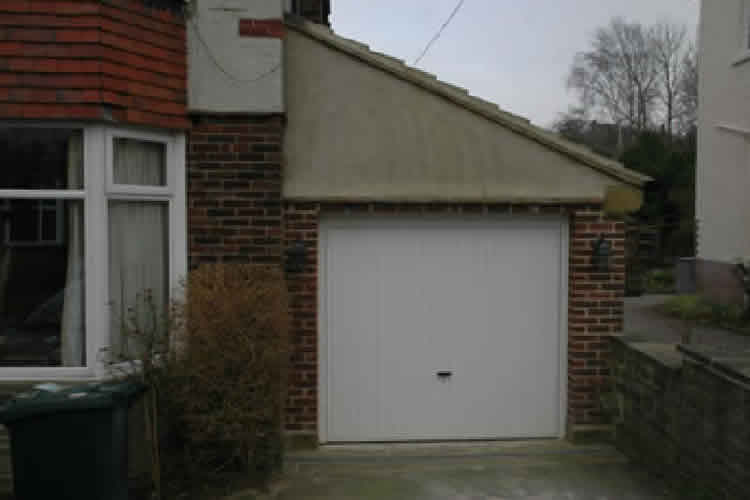 Garage Extension Build Ilkley 01