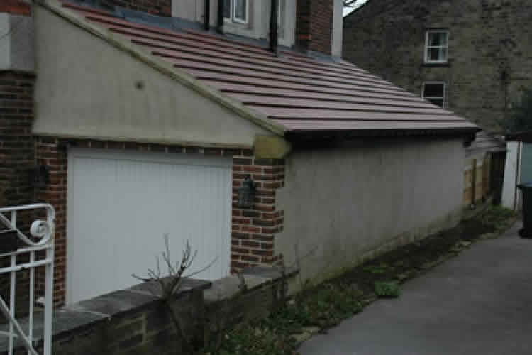 Garage Extension Build Ilkley 02